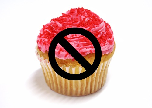 No cupcake for you. Unless you sign this petition!