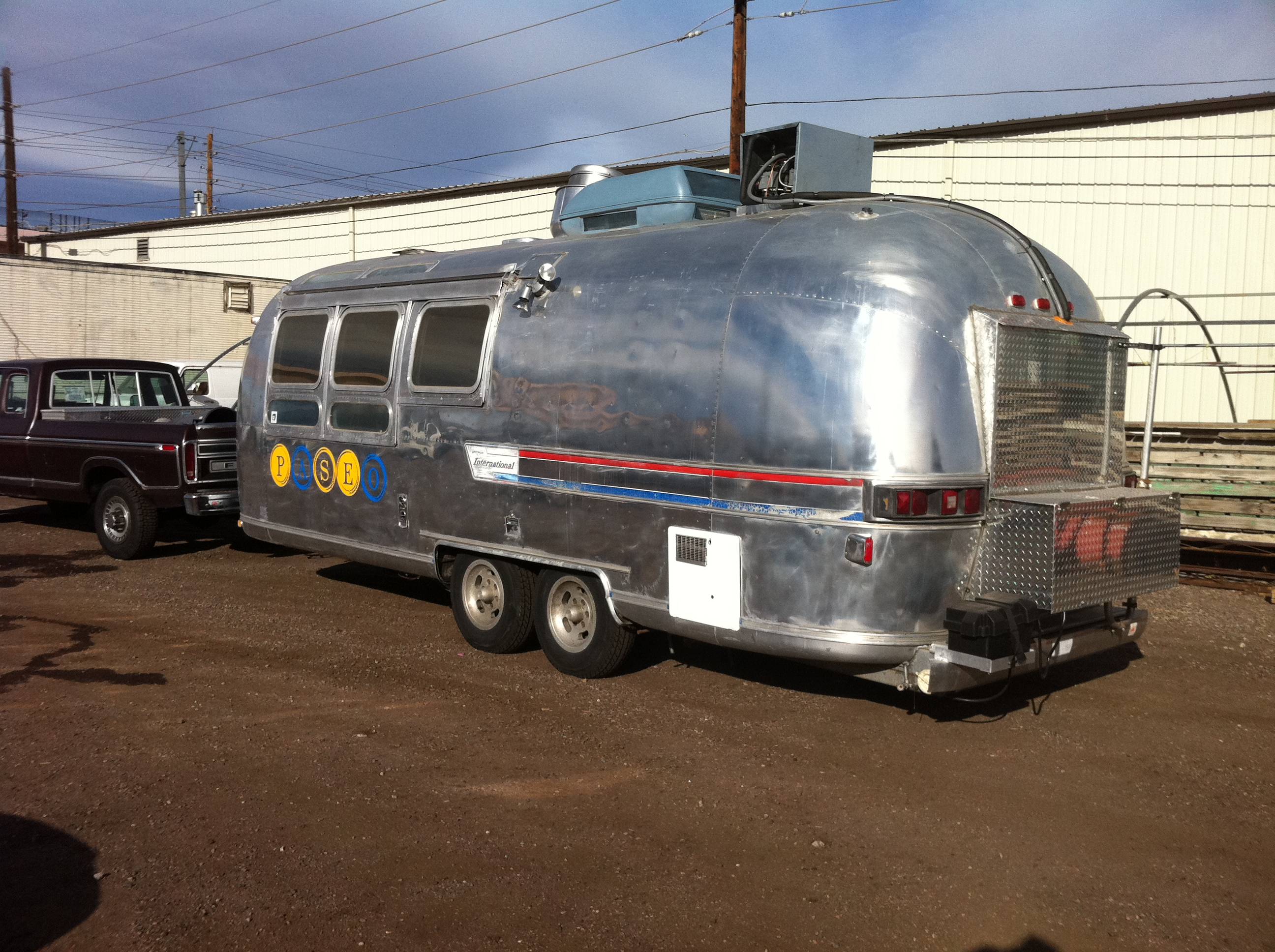 Two Mobile Food Airstreams for Sale – Denver Street Food
