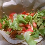 Delightful Jackfruit Tacos from Seabirds. Divine!