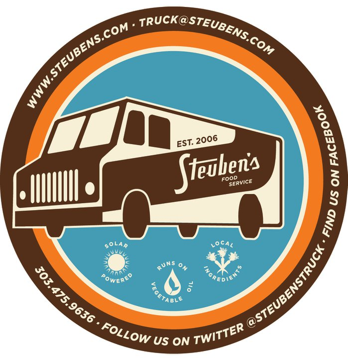 Steuben's truck is one of more than 10 trucks that make up the Food Truck Renegades. Join them for a rockin' party at 9th and Bannock on May 27, 4-9.
