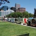 The Event with Downtown Denver behind it