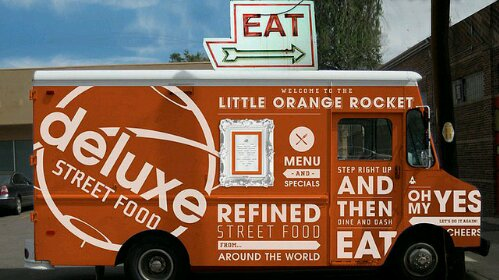 Food truck for sale - Deluxe