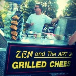 Steve's Zen and the Art of Grilled Cheese makes a mean sandwich. And by mean, I mean amazing.